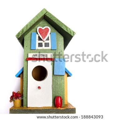 birds house - stock photo