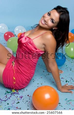 Birthday Girl - stock photo