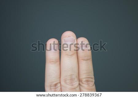 Bit nails - stock photo