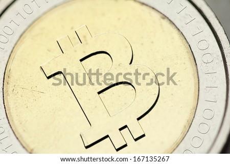 bitcoin - stock photo