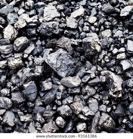 bituminous coal background. - stock photo