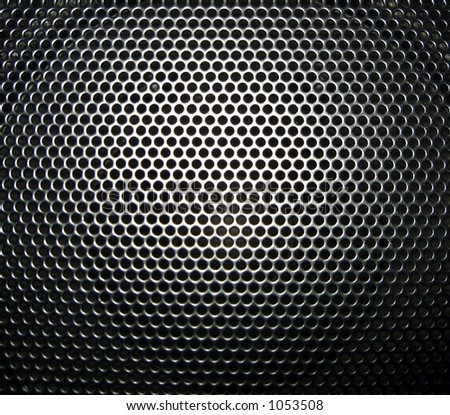 black abstract - stock photo