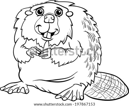how to draw a beaver tail