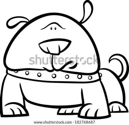 Dog Collar With Rope Coloring Pages Free Sketch Coloring Page