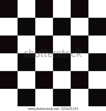 Black and white checkered abstract background - stock photo
