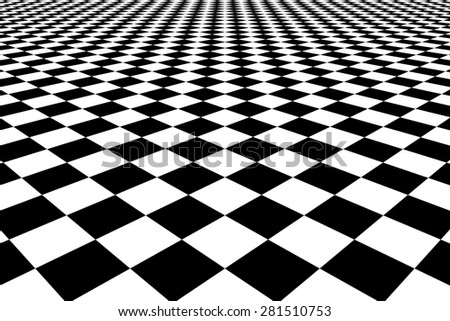 Black and white chess cellular abstraction aspiring in prospect - stock photo