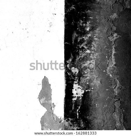 black and white grunge abstract background texture - stock photo