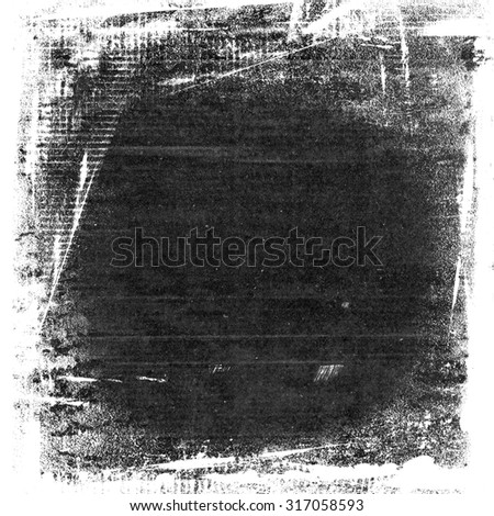 black and white grunge background, watercolor paint wall paper texture background - stock photo