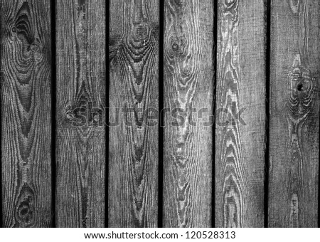 Black and white high quality boards texture - stock photo