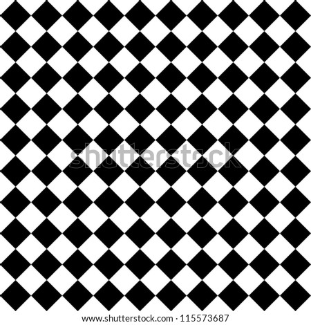 Black and white hypnotic background.  Raster version - stock photo