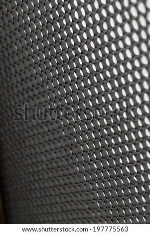 Black and white lighting panel - stock photo