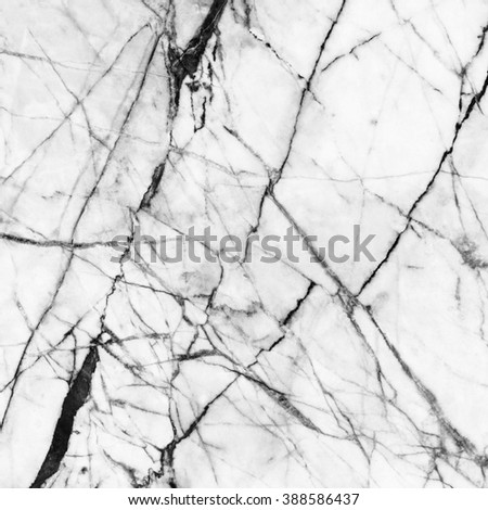 Black and white marble pattern background for decoration. - stock photo