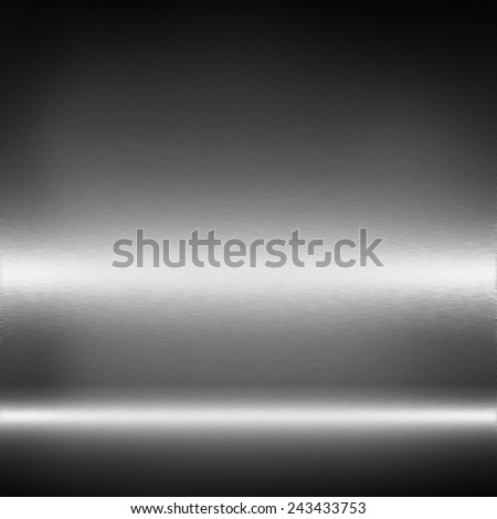 black and white metal texture abstract background - stock photo