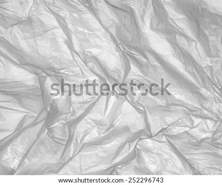black and white plastic background - stock photo
