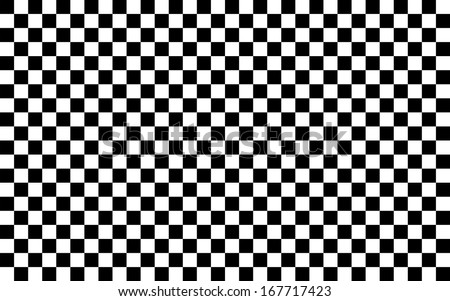 Black and White Squares. - stock photo