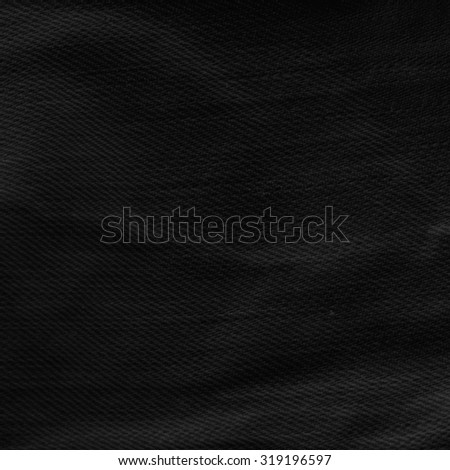 black background canvas texture background - stock photo