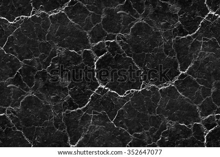 black background marble wall texture white cracks seamless pattern - stock photo