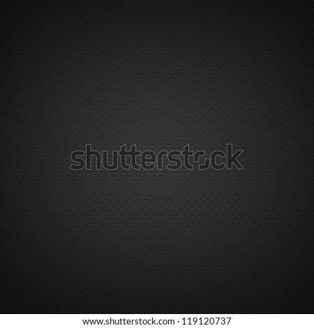Black background of circle pattern texture - stock photo