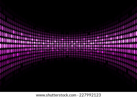 Black background with purple lights with space for your text - stock photo
