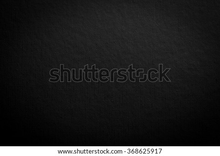 Black background with spotlight - stock photo