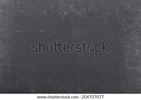 black carpet fabric background closeup - stock photo