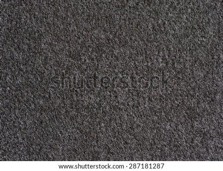 black carpet texture for background - stock photo