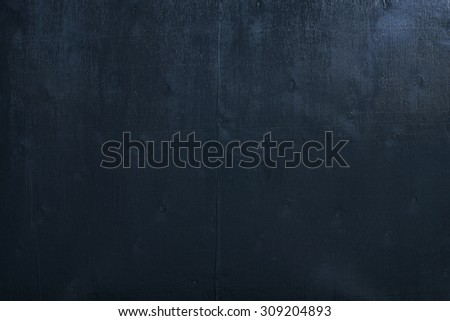 Black color wooden table top view. - stock photo