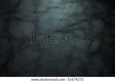 black cracked background - stock photo