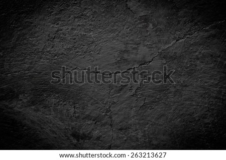 black cracked texture can be used for background - stock photo