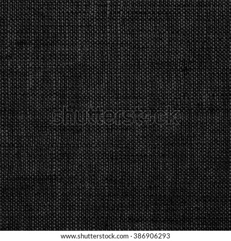 Black Fabric Background./ Black Fabric Background - stock photo