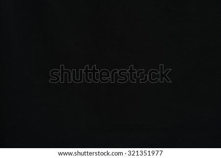 Black fabric texture background / Black fabric - stock photo