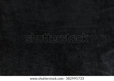 Black fabric texture detail - stock photo