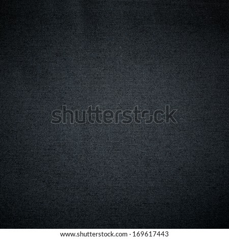 Black fabric texture, perfect as a background - stock photo