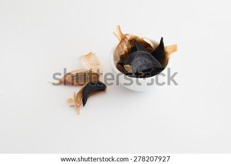 Black garlics 7  - stock photo