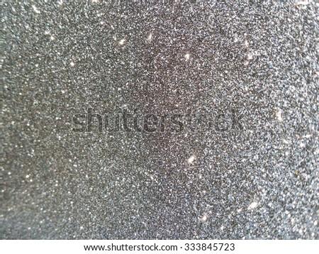 Black glitter background  - stock photo