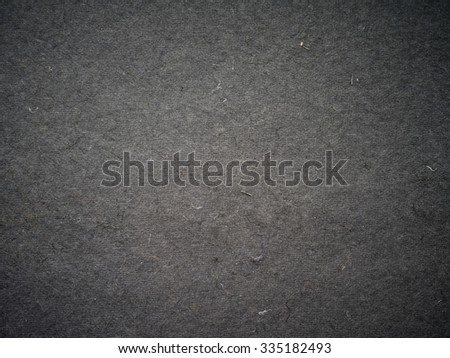 black gray uneven coating fibers and debris layer fabric with a large texture background - stock photo