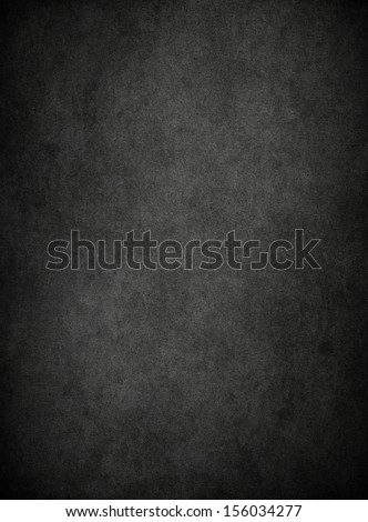 Black grunge texture, background with space for text - stock photo
