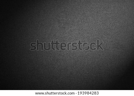 black high quality background with spotlight - stock photo