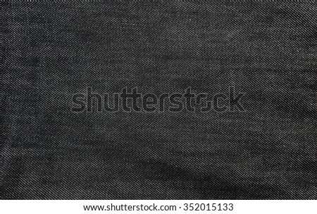 Black jeans background  - stock photo