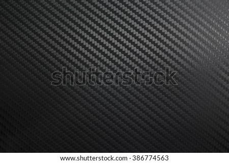 Black Kevlar carbon fiber background/material/kevlar carbon fiber - stock photo