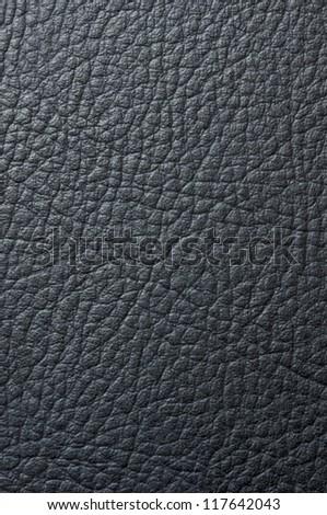 Black leather - stock photo