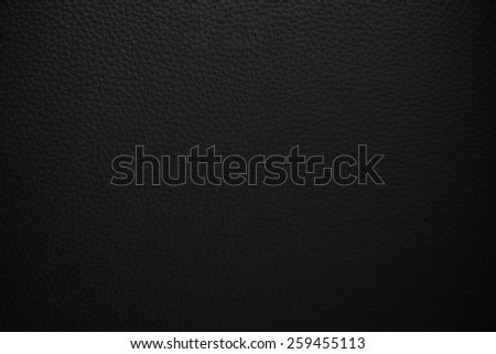 black leather background - stock photo