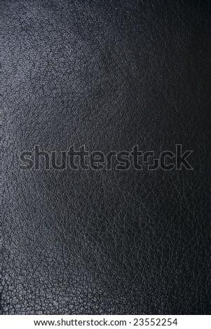 Black leather - high resolution - stock photo