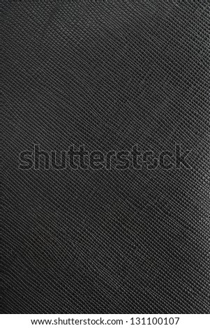Black leather pattern of Wallet - stock photo
