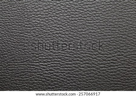 Black leather texture and seamless background - stock photo