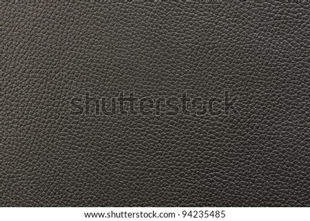 Black leather texture background. See my portfolio for more - stock photo
