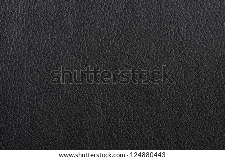 black leather texture background surface or wallpaper with copyspace - stock photo