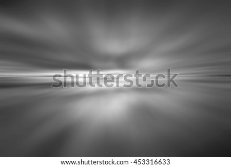 black Light festive background. Elegant abstract background with bokeh defocused lights. zoom motion move speed - stock photo