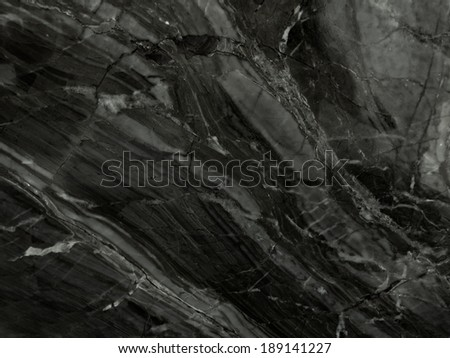 Black Marble. (High.Res.) - stock photo