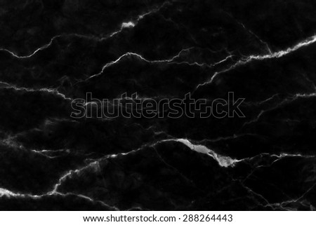 Black marble patterned (natural patterns) texture background, Marbles of Thailand, abstract natural marble black and white for design. - stock photo